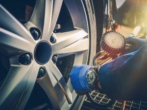 correct tire pressure