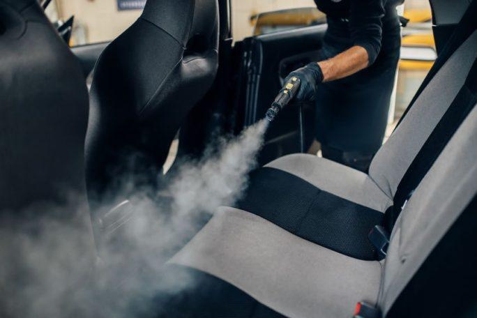 keeping car clean